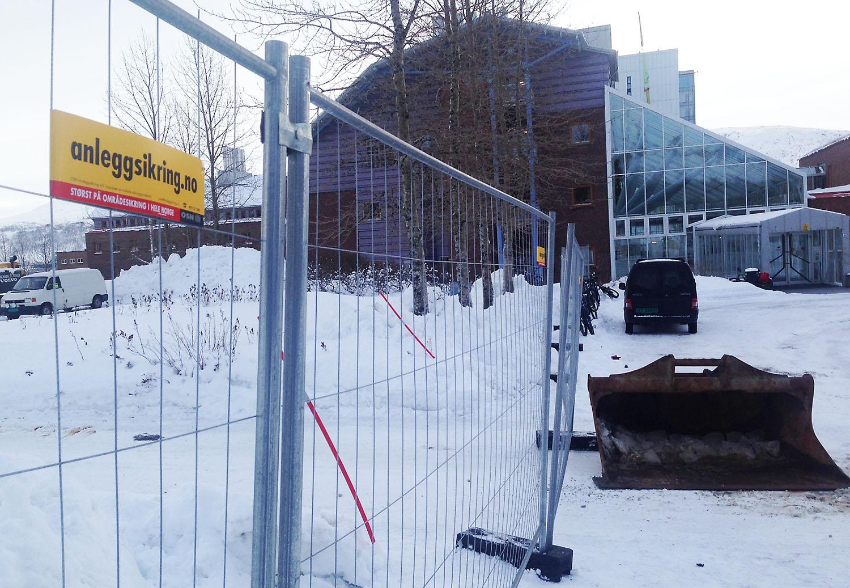 Inngang Vest stenges i uke 11. Foto: Per-Christian Johansen, UNN