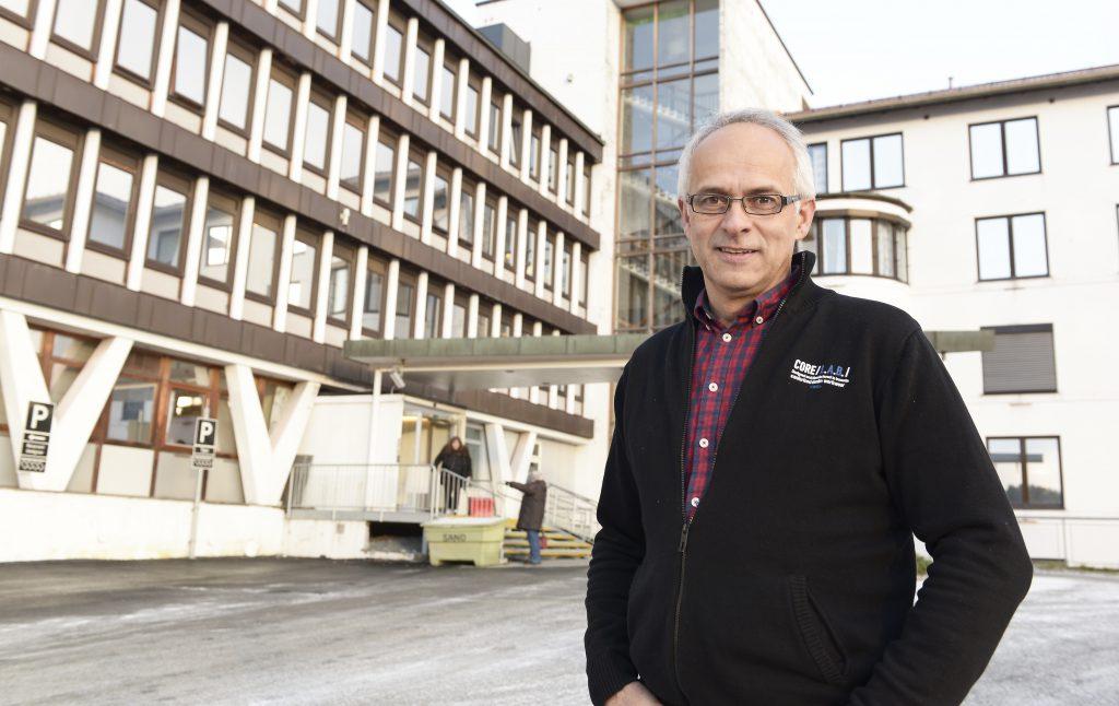 Viggo Søderblom er prosjektleder for sykehusutbyggingen i Narvik. Foto: Per-Christian Johansen