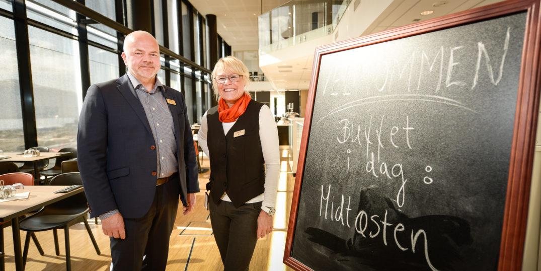 Kjell Olav Pettersen og Bente Urdal