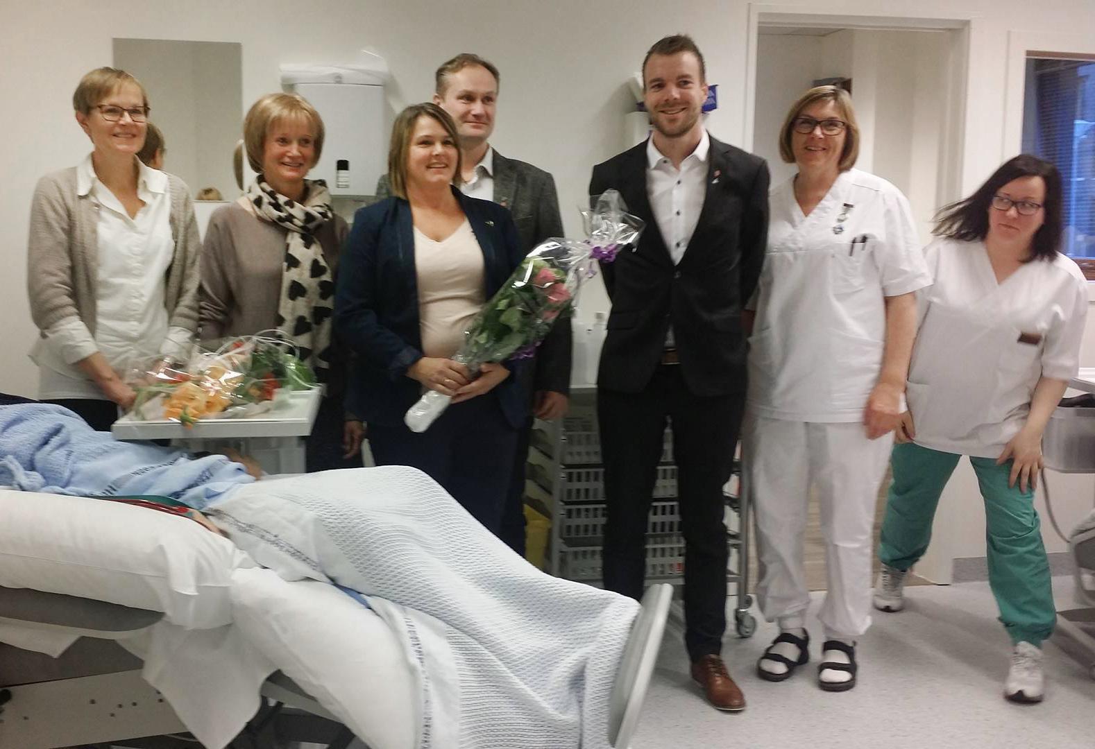 Sykepleiere Distriktsmedisinsk senter Nord Troms, dialysen