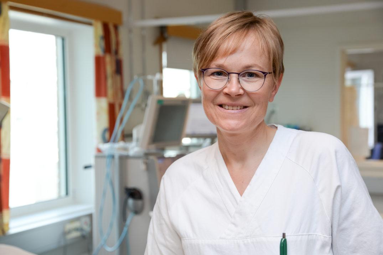 Hun er et «eksempel til etterfølgelse, både som leder og overlege», skriver Legeforeningen på sine nettsider. Foto: Jan Fredrik Frantzen