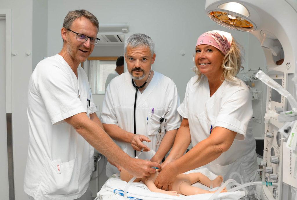 Testet ut enklere metode for gjenoppliving av nyfødte